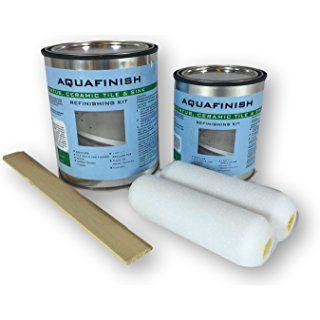 Aquafinish 32 Oz Bathtub Refinishing Kit Coating Only Bathtub