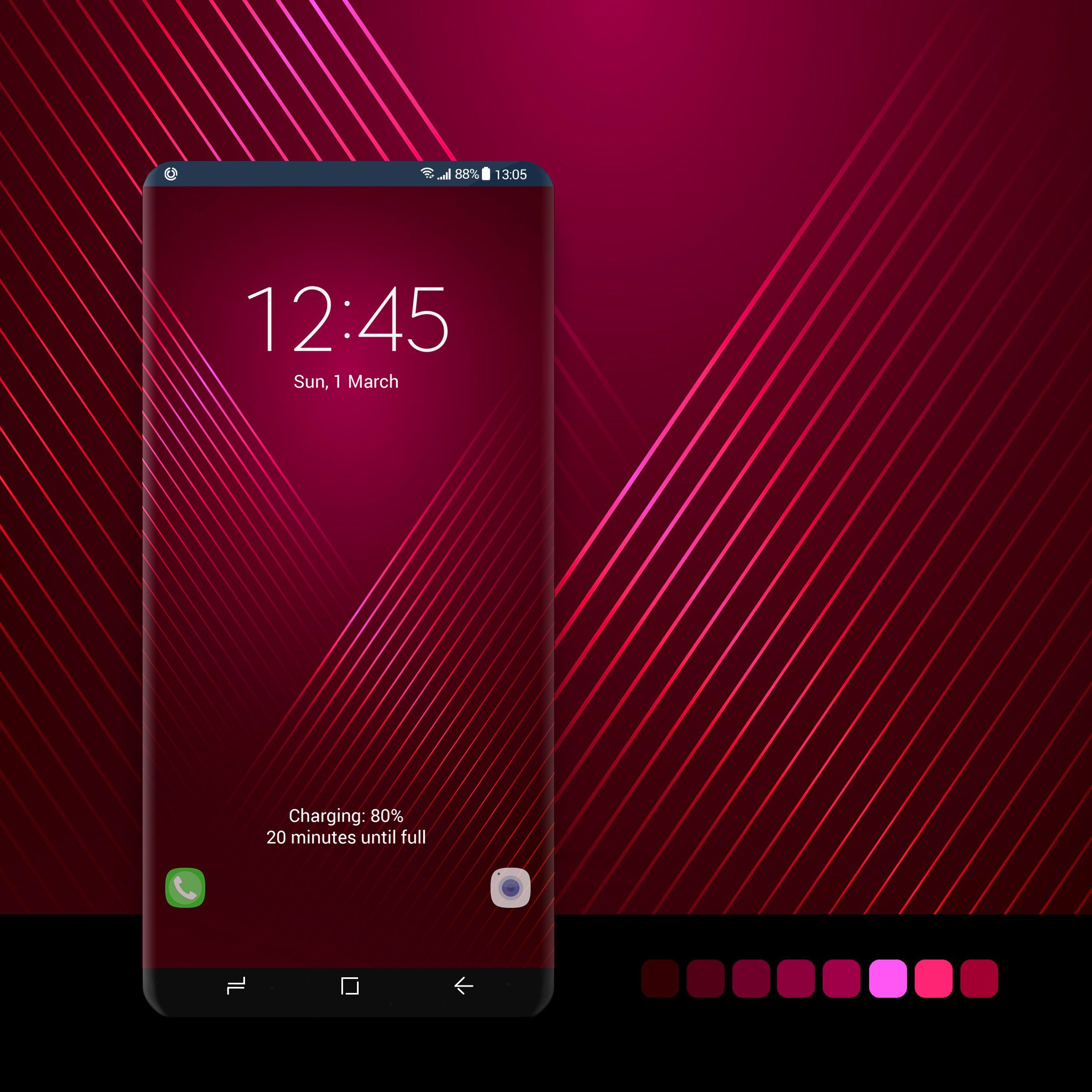 Maroon color wallpaper wallpaper, android, phone,