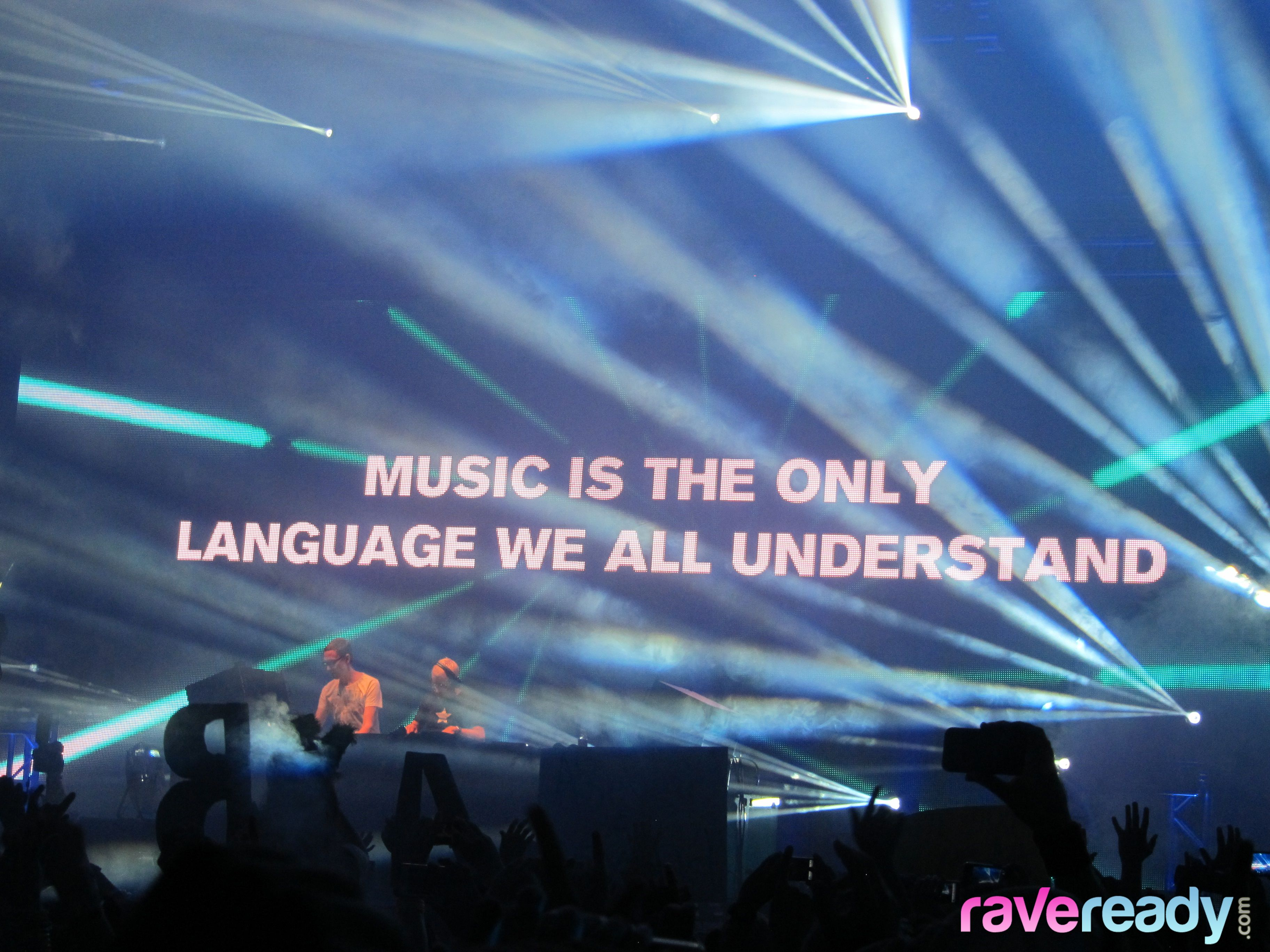 Music is the only language we all understand.