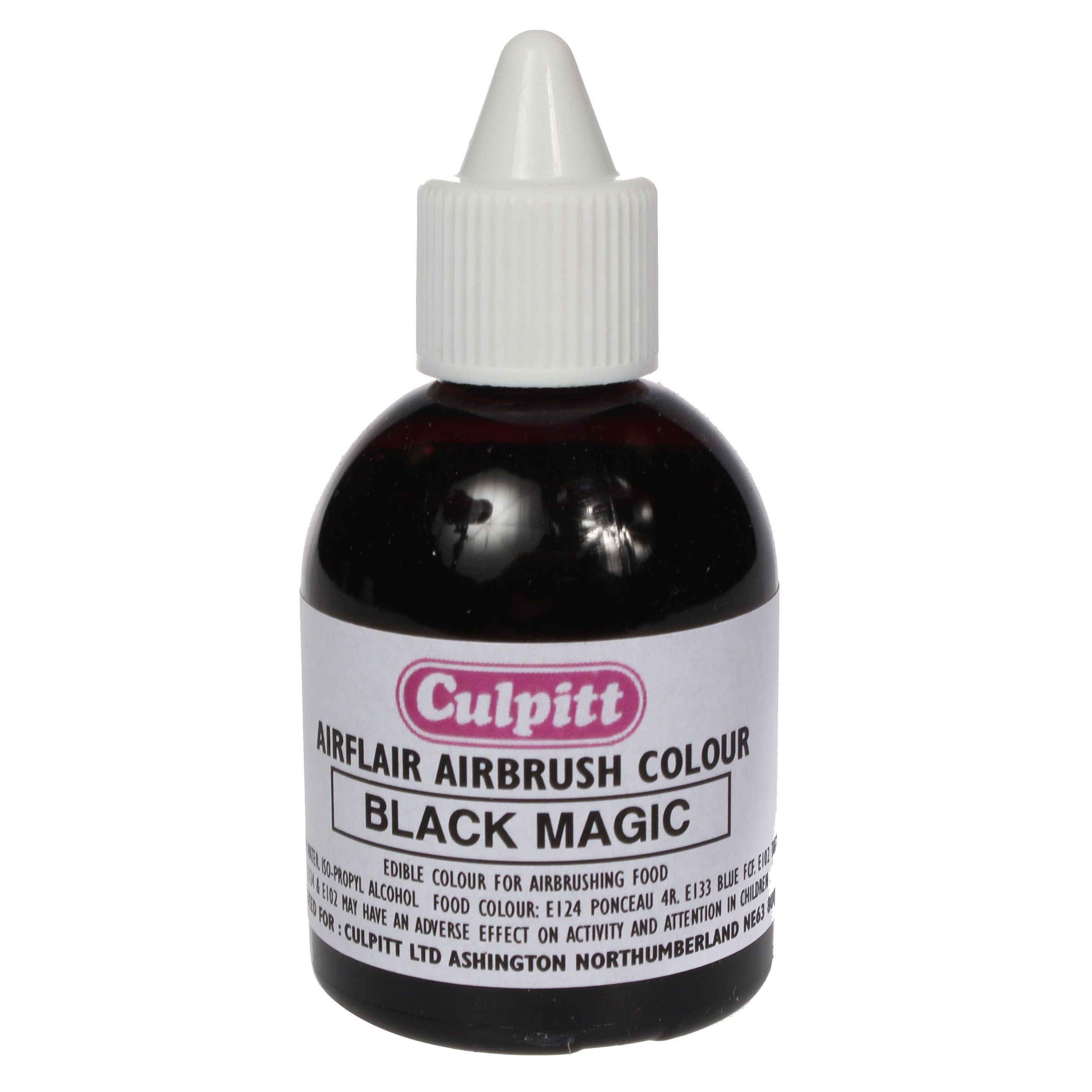Edible Airbrush Colour Black Magic | Food Colours | Cake Decorating ...