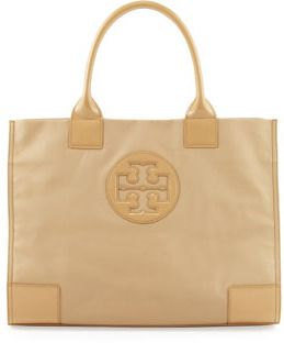 e53555f15 Tory Burch Ella Coated Canvas Tote Bag, Camel on shopstyle.com ...