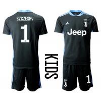 Maglie da calcio Juventus Portiere Wojciech Szczesny #1 Seconda ...