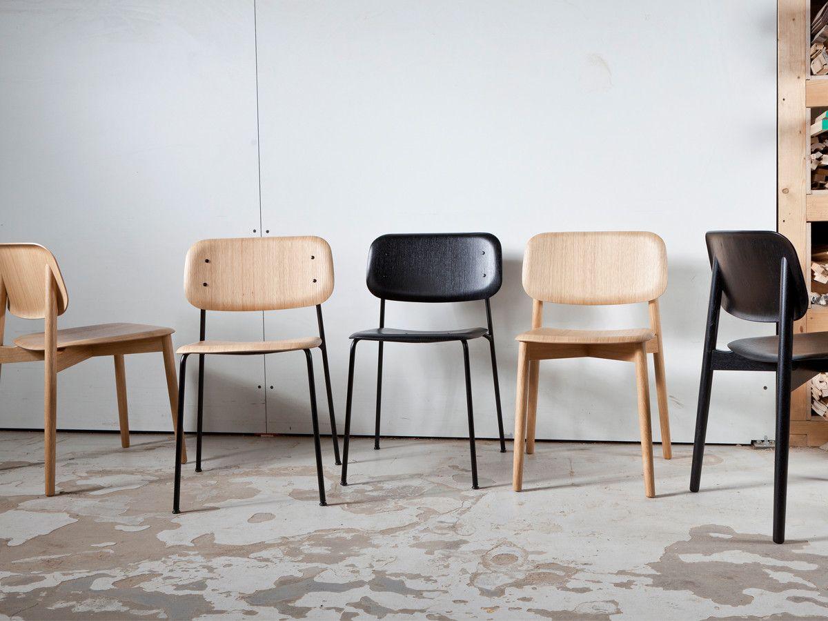 Hay Sedie ~ Hay soft edge 10 chair metal frame hospitality design side