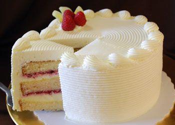 Lemon Raspberry Torte: An enticing blend of homemade lemon ...