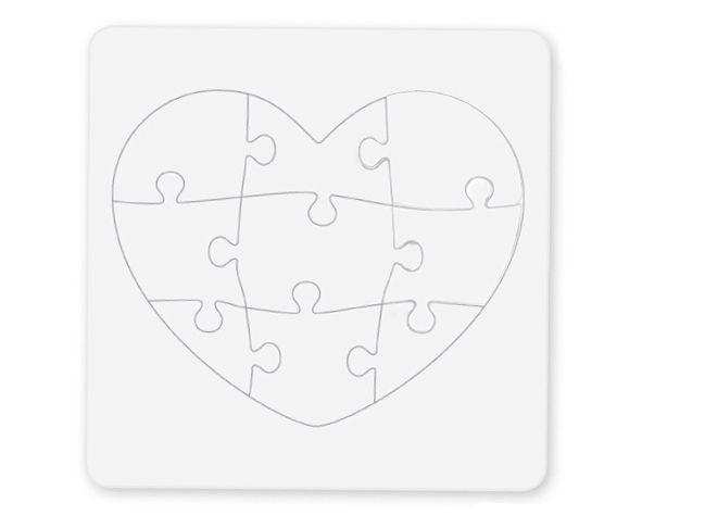 Coloriage d un puzzle c ur de 9 pi ces t te modeler atelier manuel coeur colorier - Coloriage tete a modeler ...