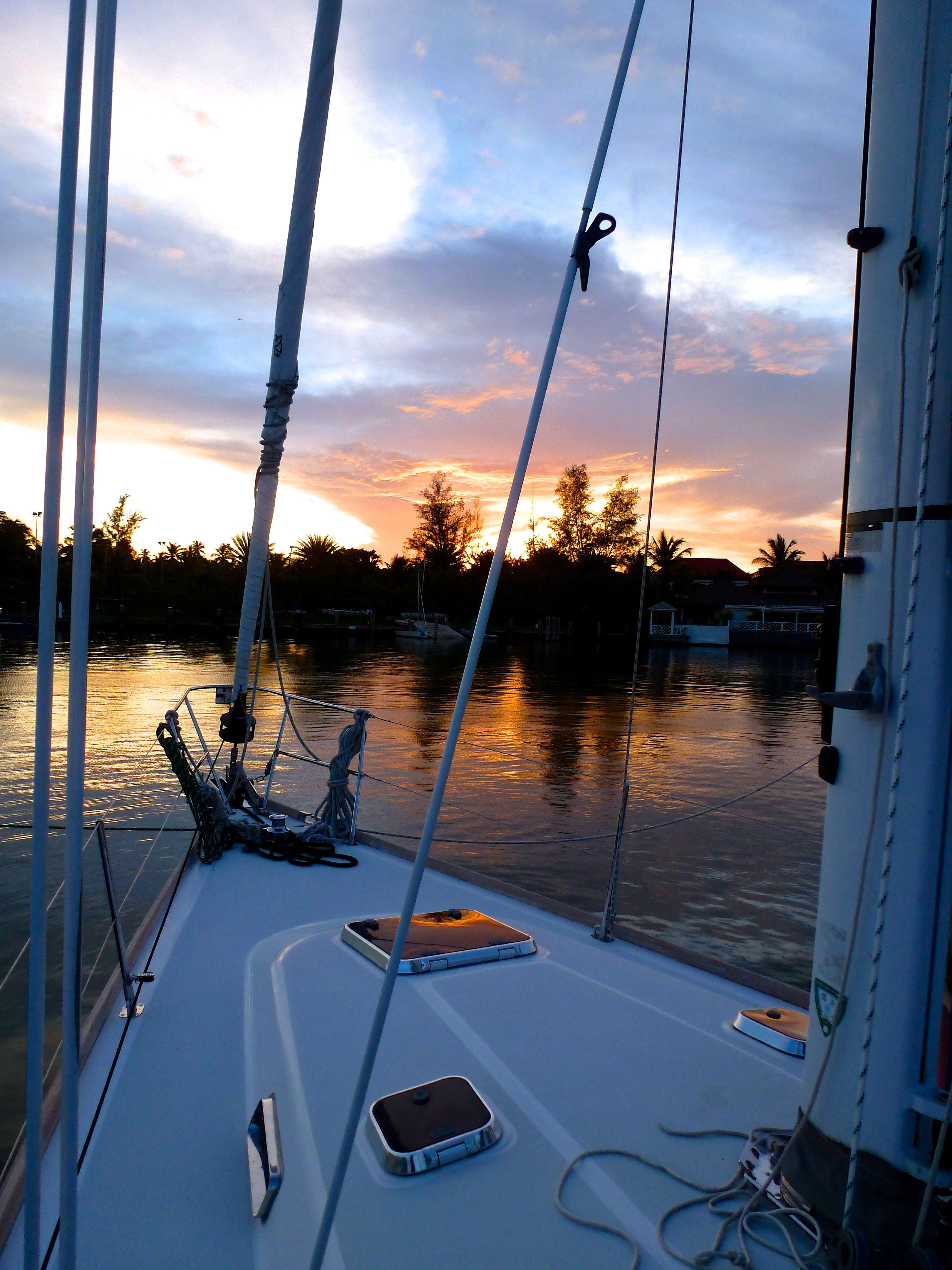 Moriel - sunset Jolly Harbor Antigua