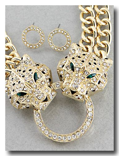 Tigresa Necklace & Earring Set