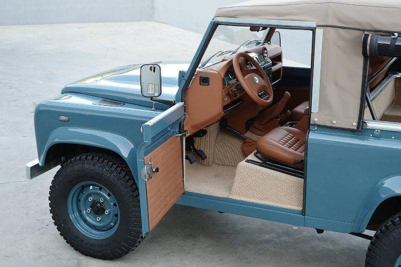 Land Rover Marin >> Landrover Defender Longjohn Marine Blue High Quality