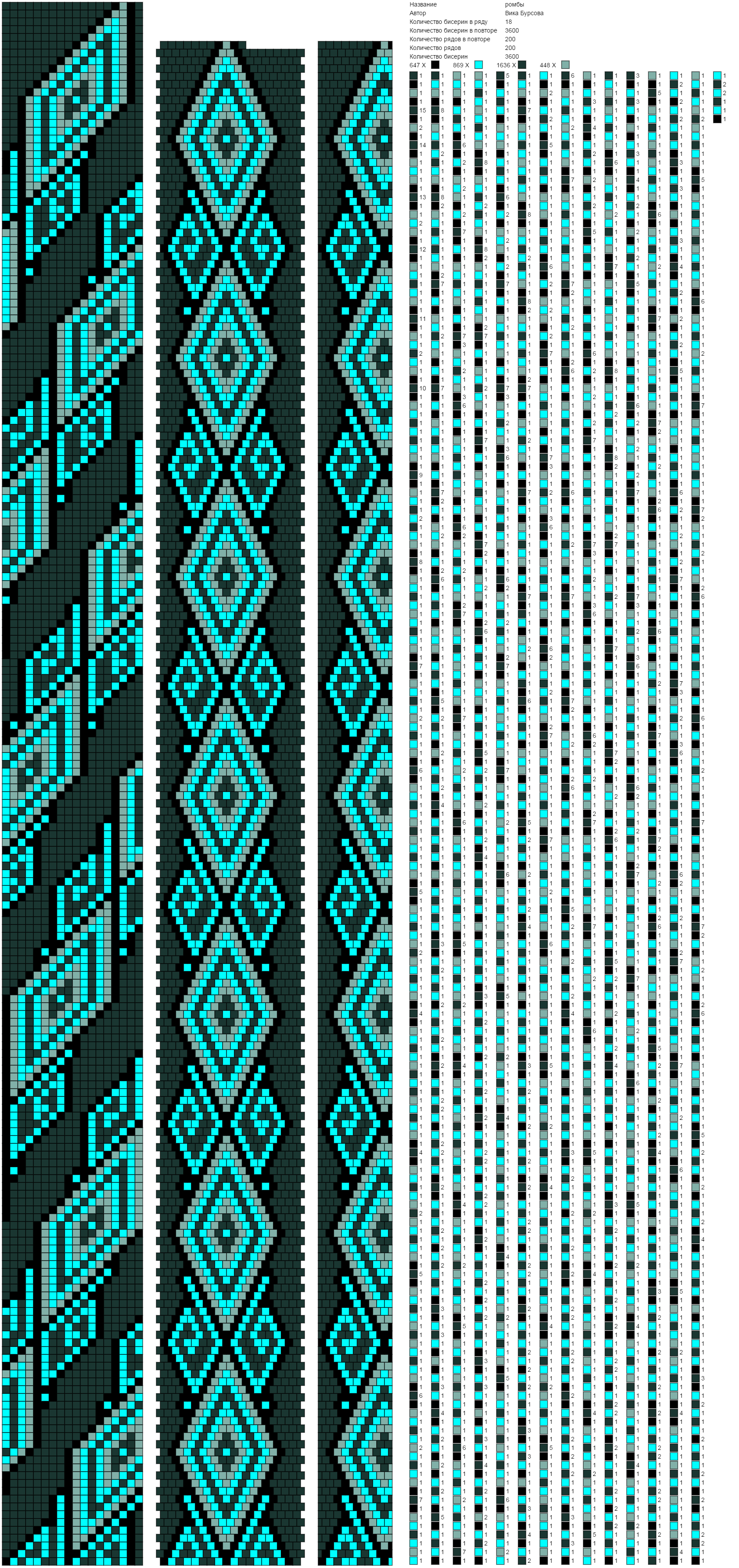 5c1ce3a58a96cc7a021627ad99c04e11.png (1703×3611) | Бисерные жгуты ...