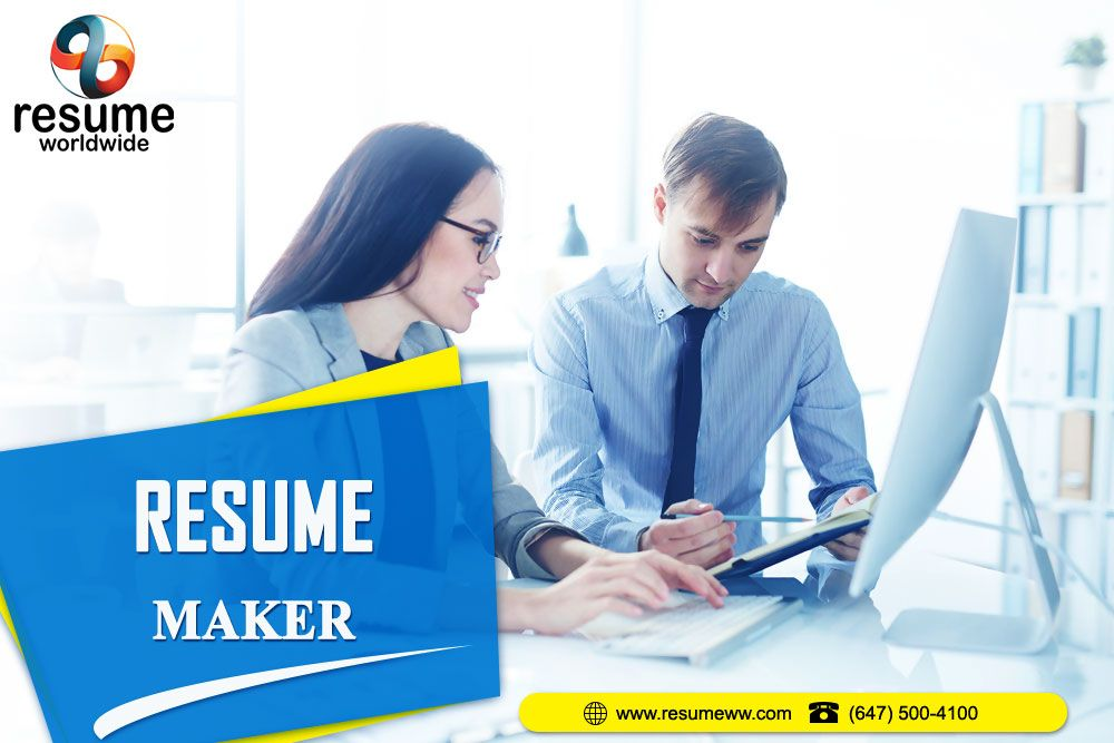 Resume Making Services Toronto in 2020 Resume maker