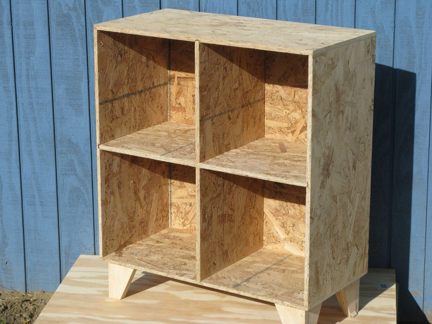 osb bookcase | Decorate it | Pinterest | Plywood, Osb board and Woods