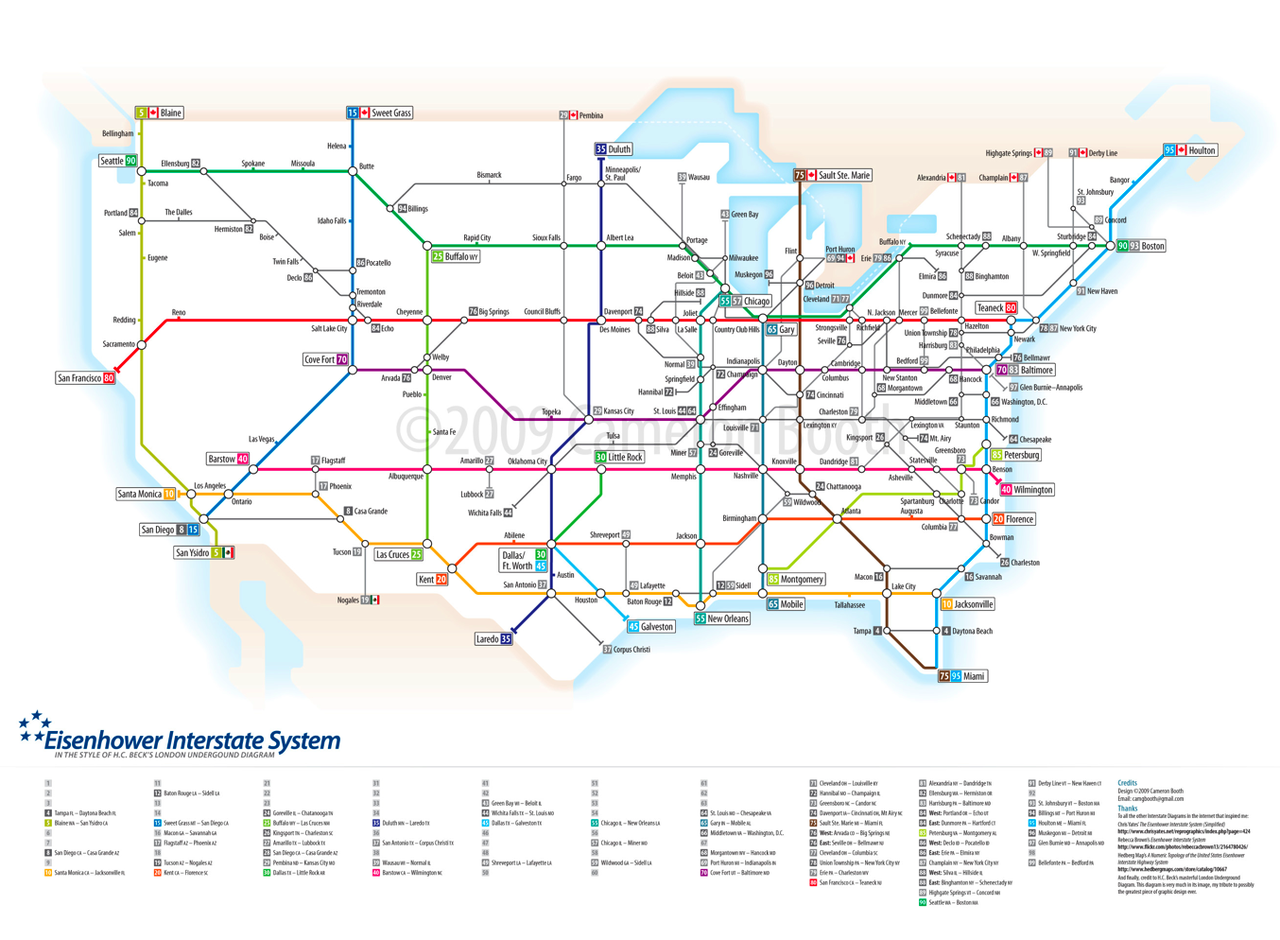 Highways as the London Subway Map | Design | London tube map ...
