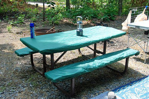 How To Set Up A Comfortable Rv Campsite Camping Table