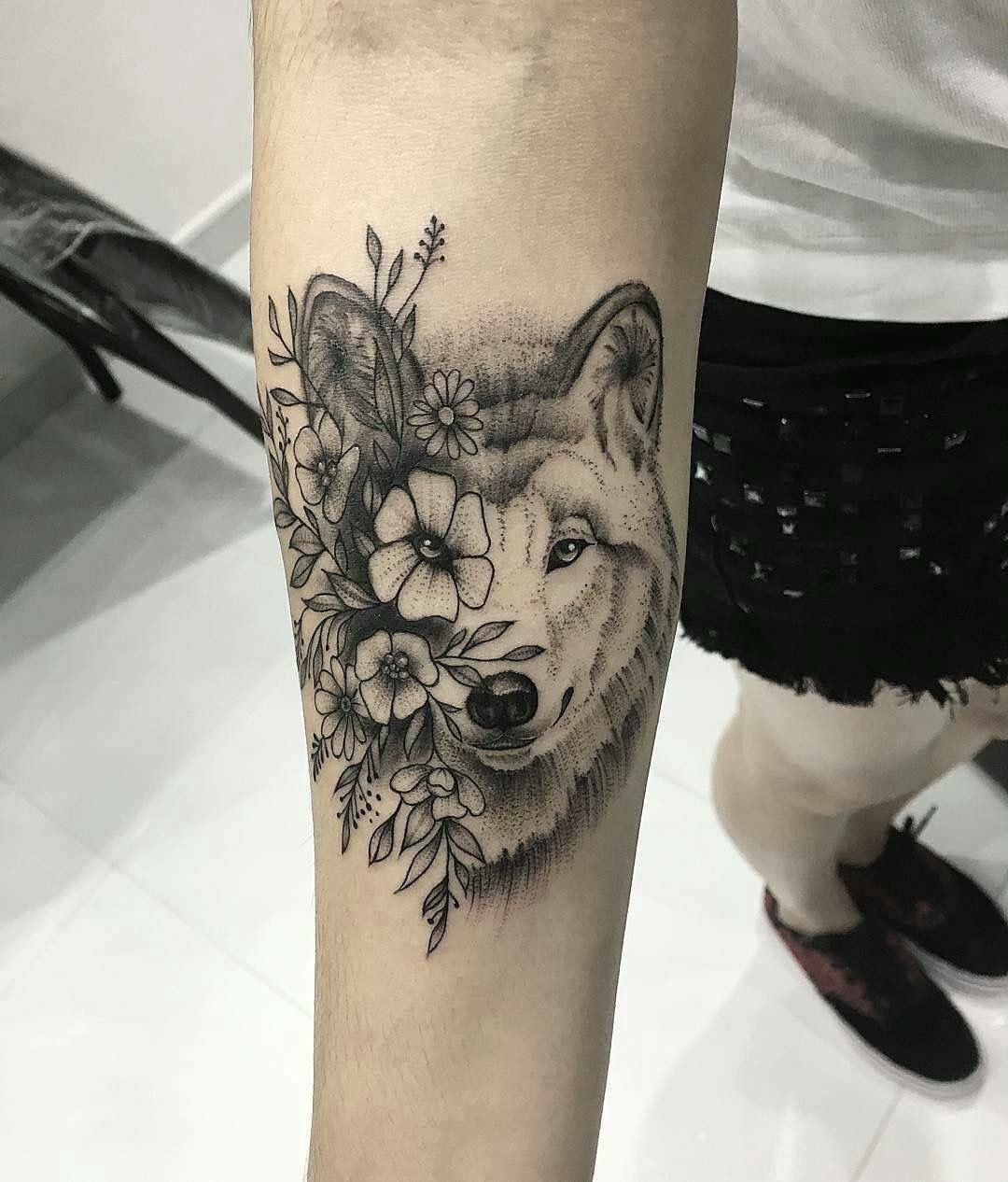 Tatuaje De Hermanas Desenho De Tatuagem De Lobo Lobo