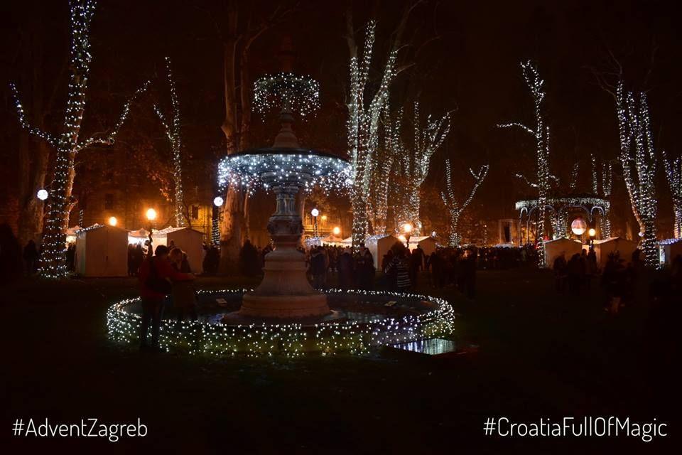 Zrinjevac Advent Zagreb Best Christmas Markets Croatia Zagreb