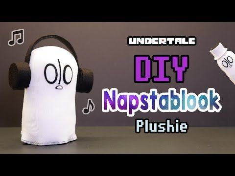 Easiest Plushie Ever Made! DIY Undertale Napstablook Plushie (Free Pattern)…