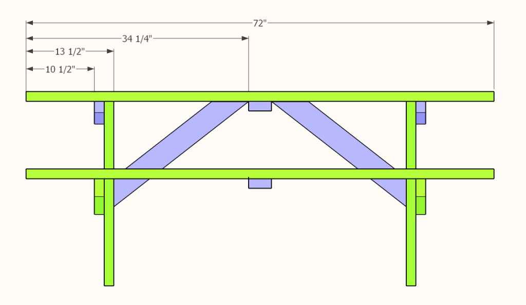 Picnic Table Plans for the DIYer » Famous Artisan