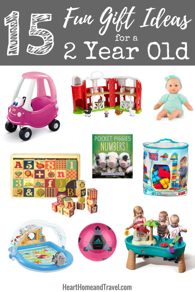 15 Fun Gift Ideas for a 2 Year Old | 2 year old gifts ...