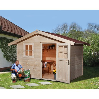 Weka Dreveny Zahradni Domek Bozen A Nakoupit U Obi Outdoor Structures Structures Outdoor