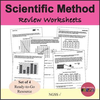 Scientific Method Worksheets Review All Things Science Pinterest