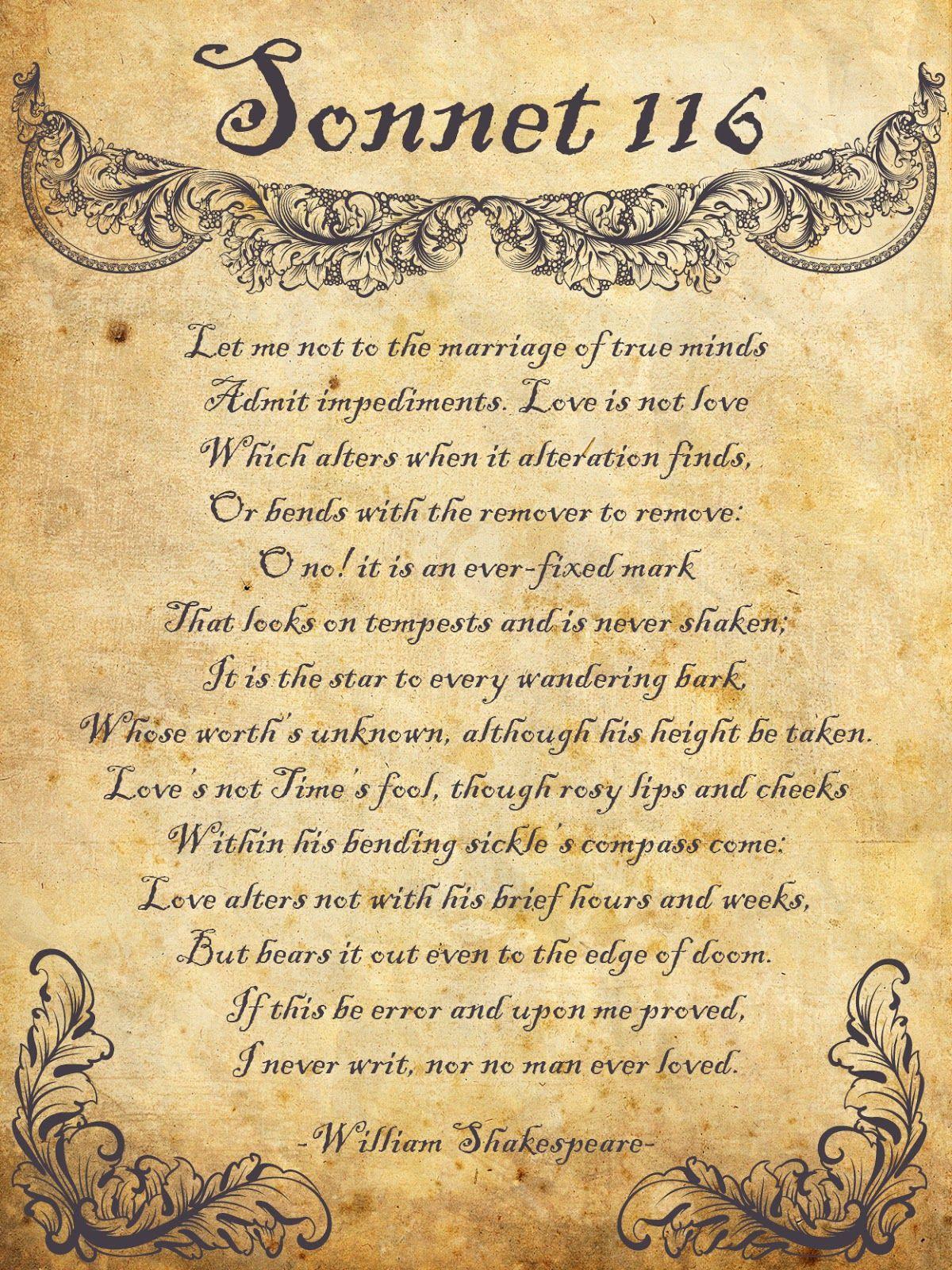 shakespeare sonnet no 18