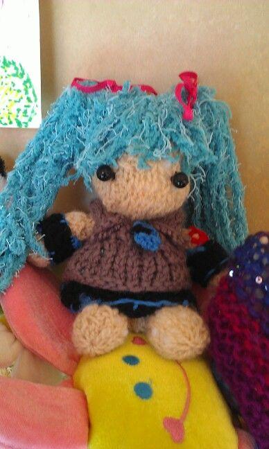 Made a Miku doll!