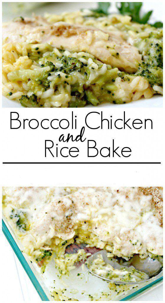 Broccoli Chicken And Rice Bake dinner chicken Recipes