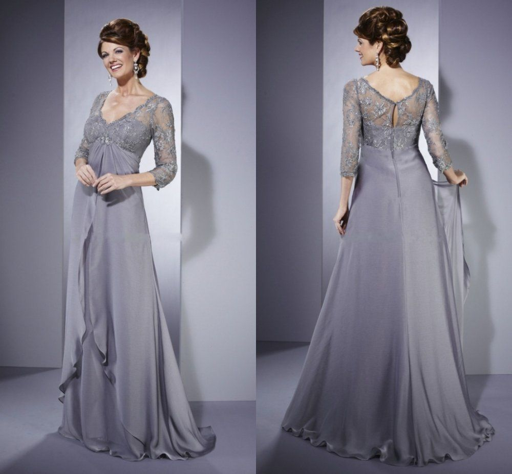 7 wedding dress for mom fashion dark blue stupefying for Dark grey wedding dresses