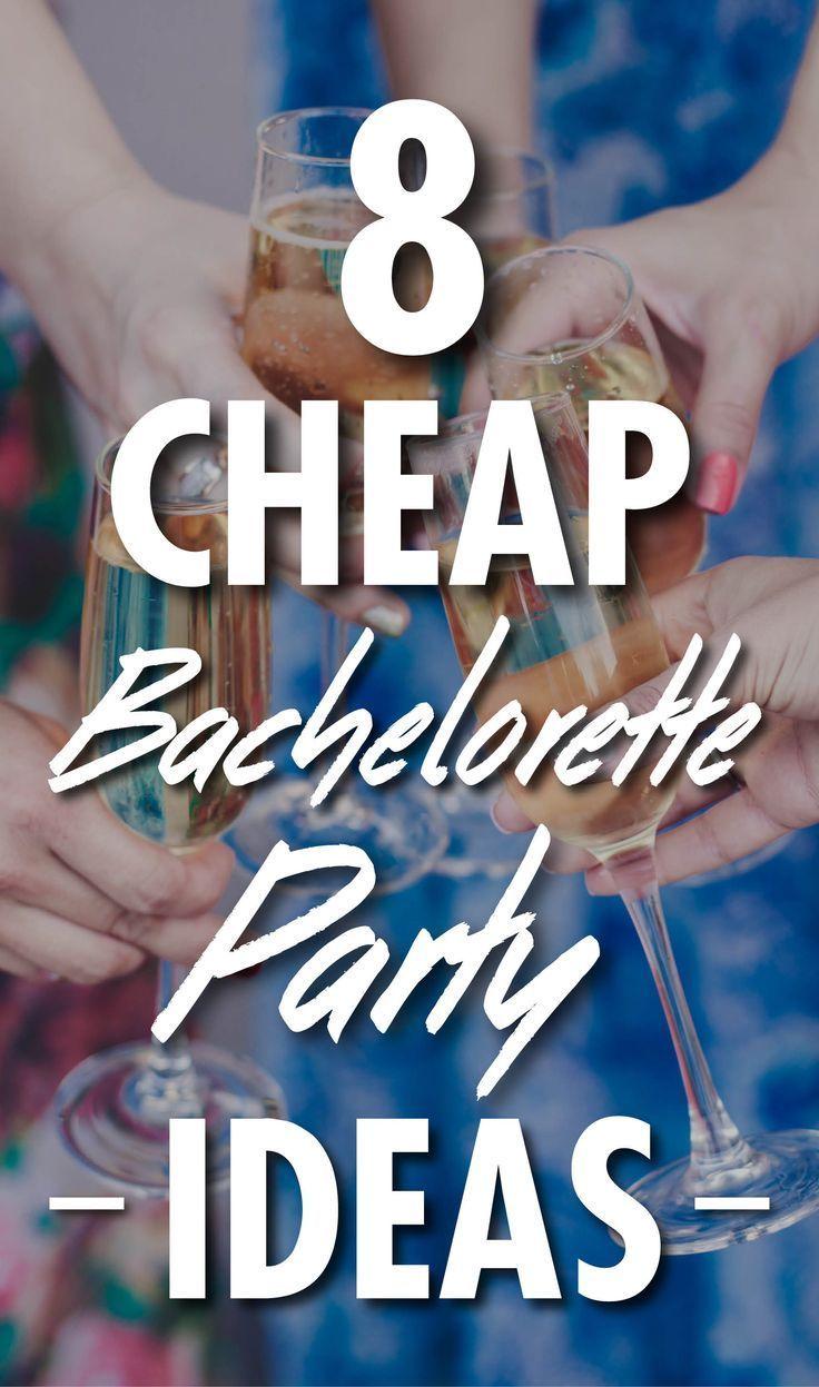Photo of 8 Cheap Bachelorette Party Ideas #bachelorettepartyideas 8 Cheap Bachelorette Pa…