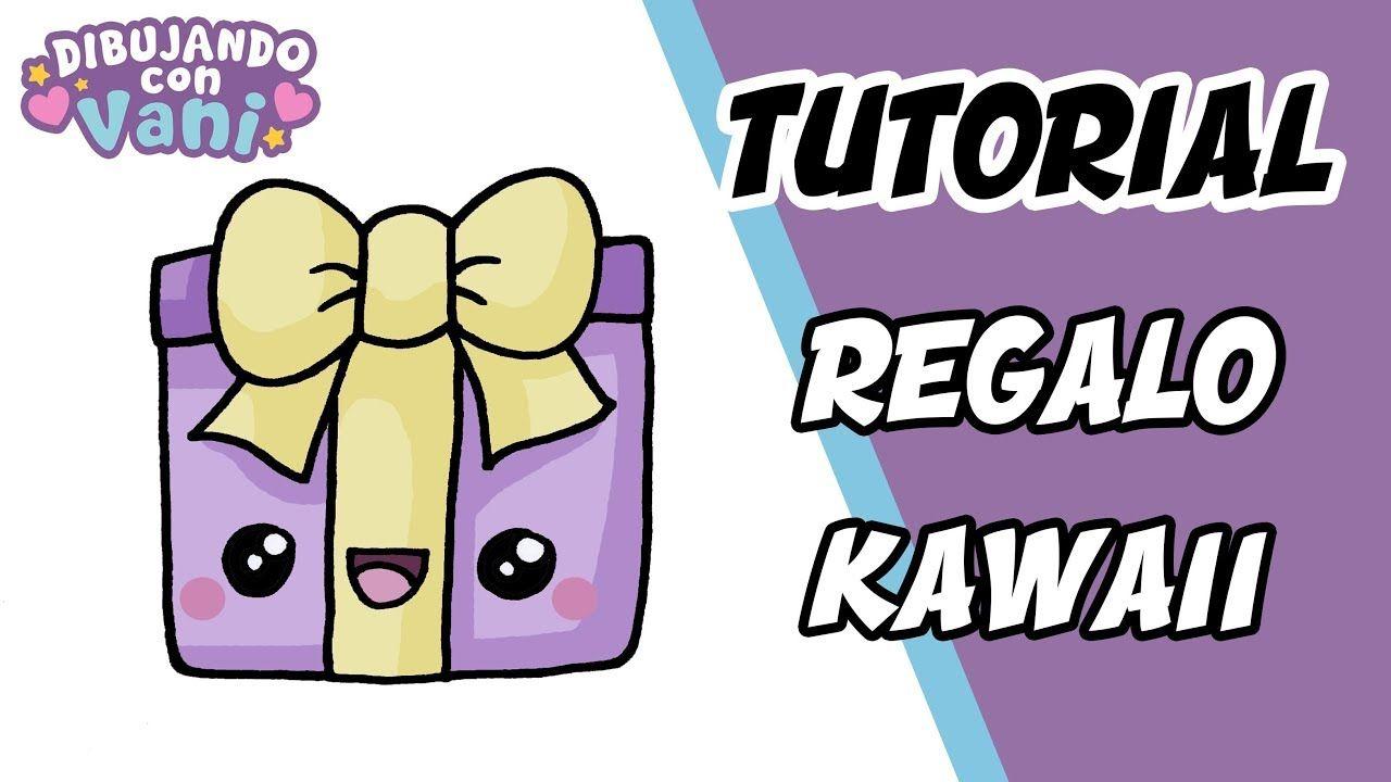 Como Dibujar Regalo Kawaii Para Niños Dibujos Imagenes Anime Faciles Dibujos Kawaii Como Dibujar Kawaii Cómo Dibujar