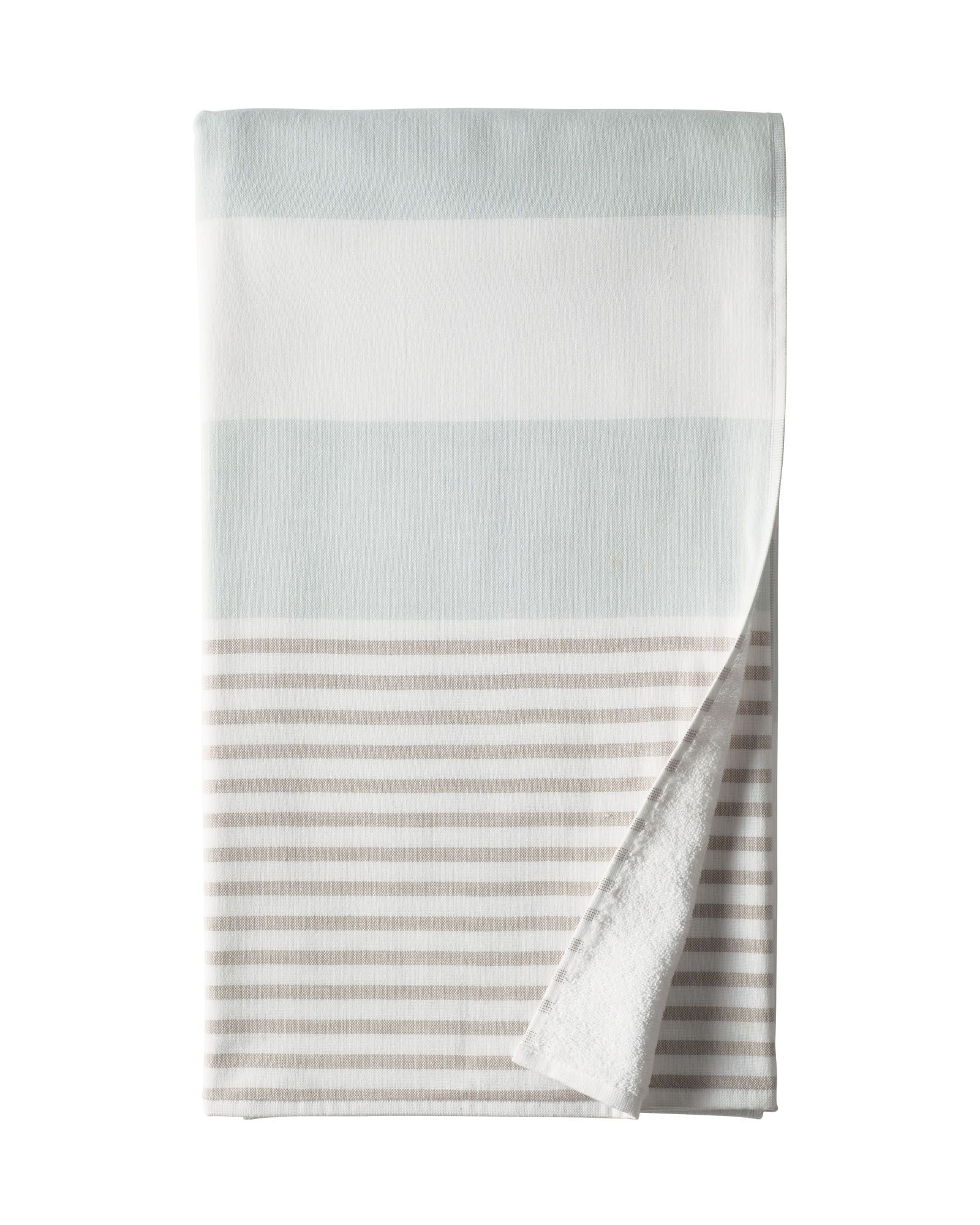 Serena & Lily color block Fouta Bath Towels. Smooth on one side ...