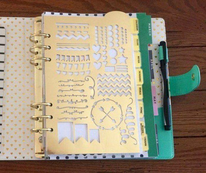 comment organiser et customiser son agenda 62 id es diy road book pinterest agenda. Black Bedroom Furniture Sets. Home Design Ideas