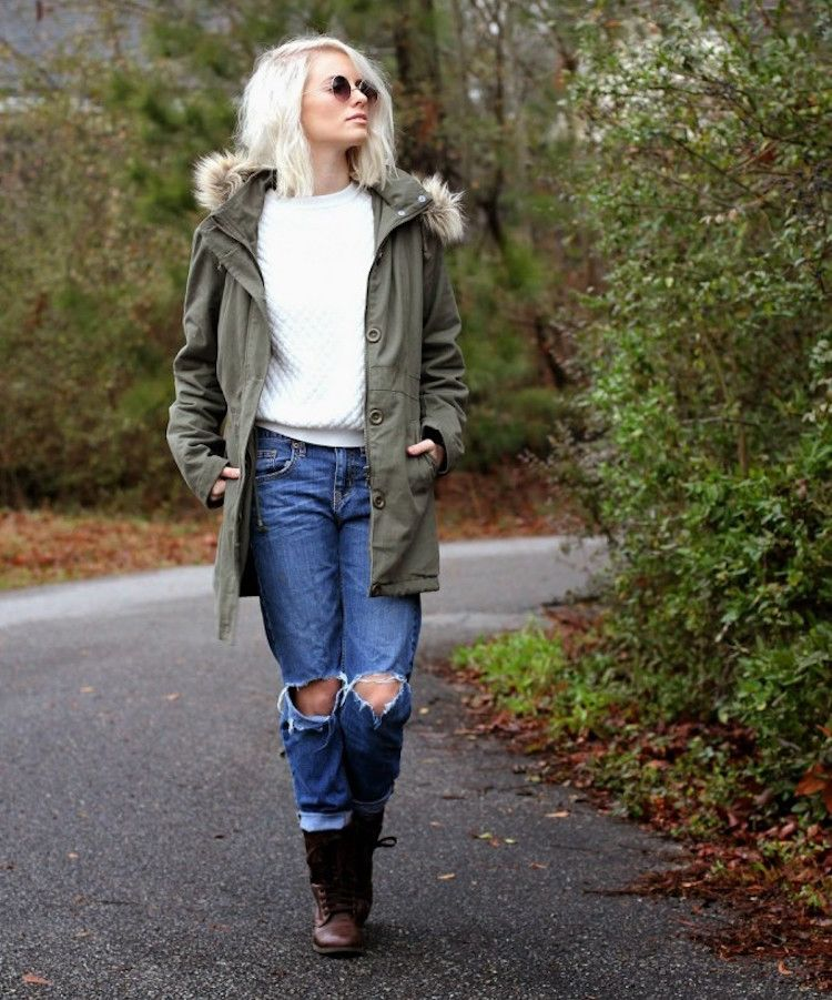 damen-parka-winter-mode-kombinieren-casual-boyfriend-jeans ...
