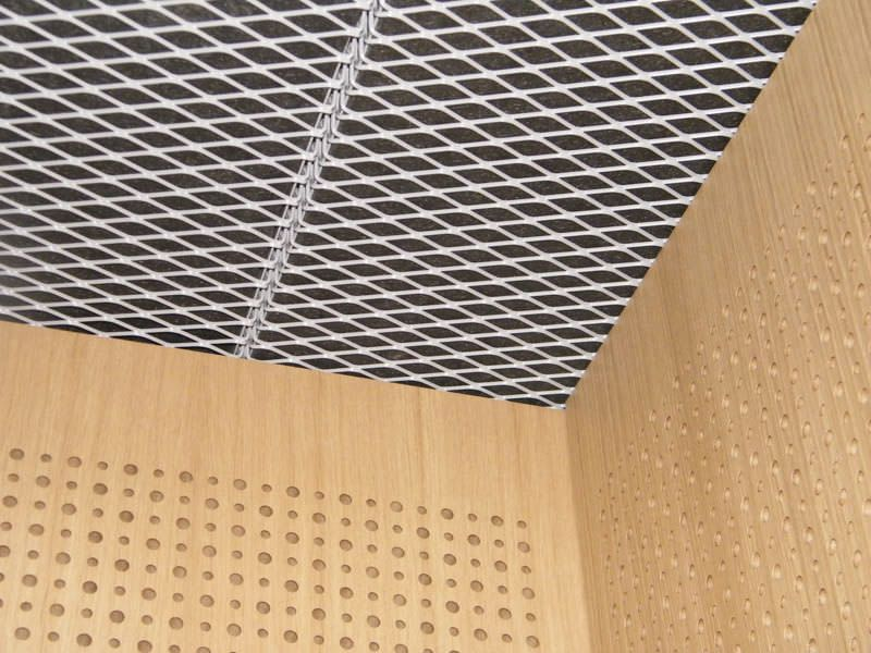 Decorative suspended ceiling / wire mesh / tile - Marianitech ...