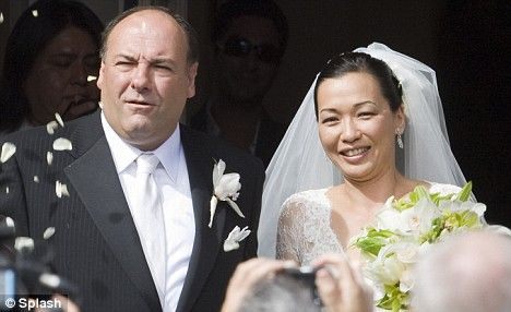 James Gandolfini And Deborah Lin | James Gandolfini marries his former model fiancée in Hawaii