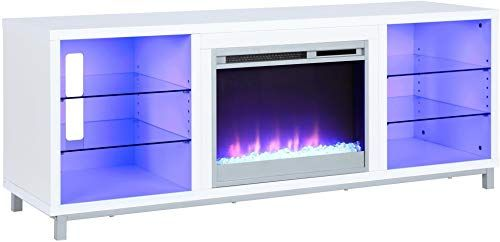 Amazing Offer On Lumina Fireplace Tv Stand Tvs 70 White Online