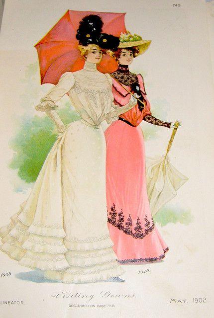 Visiting Dresses Edwardian Era Fashion Edwardian Fashion Vintage Outfits