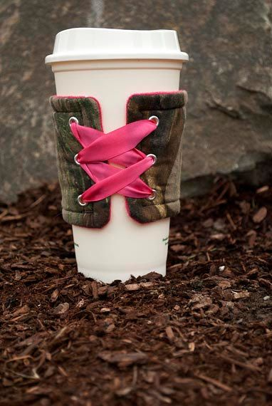 Pink Camo Koozie -these are awesome!!
