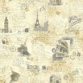 55 York Wallcoverings Photo Collage Sidewall Wallpaper