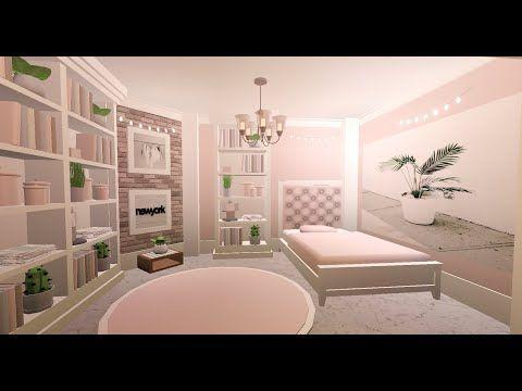 Bloxburg Pink Aesthetic Room|| Itz Daxu ||