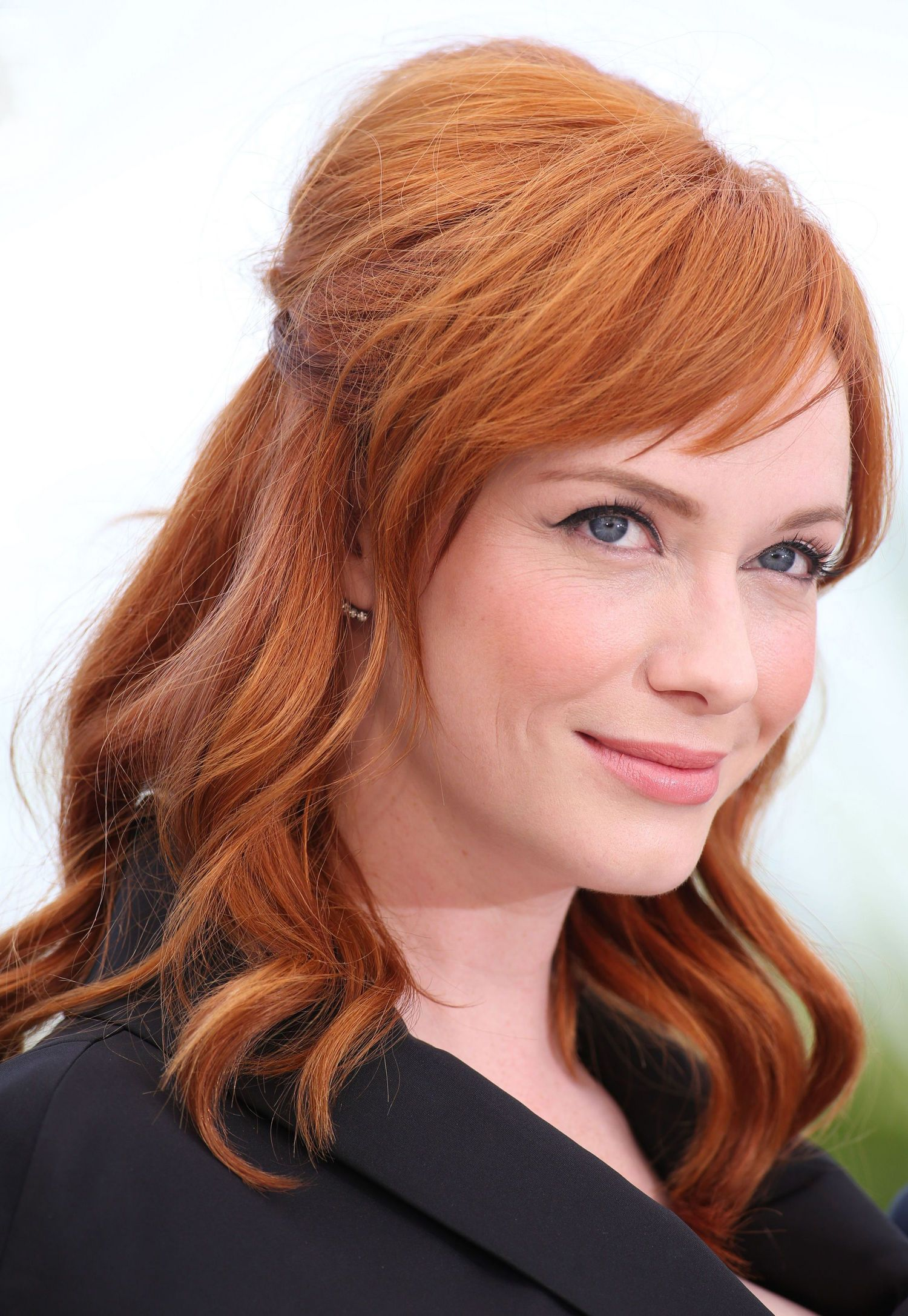 Find Out the Box of Red Hair Dye Christina Hendricks Uses Sheus Now