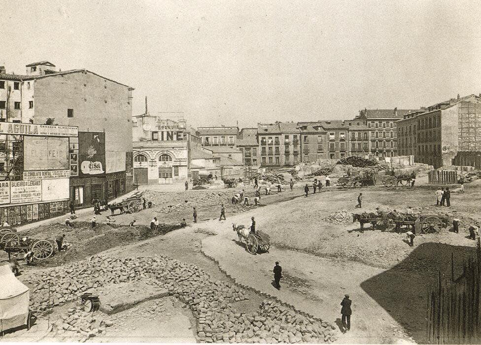 Plaza de Callao, 1920