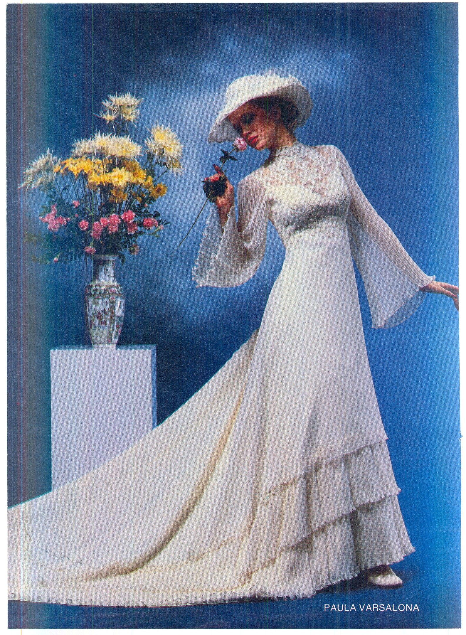 Vestiti Da Sposa 1980.1980 Bride Abiti Di Matrimonio Vintage Abiti Da Sposa