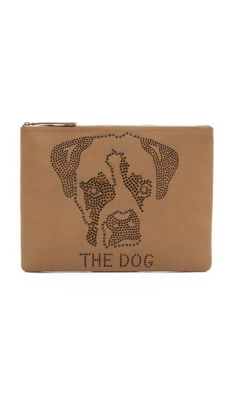 Me and Her Casselini Dog Clutch