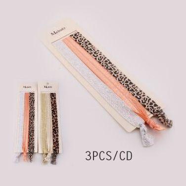 Leopard Print and Metallic Wide Elastic Head Bands #headbands #accessories #cute #hairaccessories
