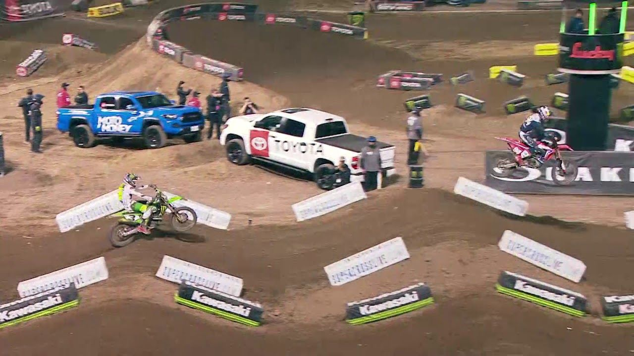 450SX Main Event Highlights Oakland YouTube https