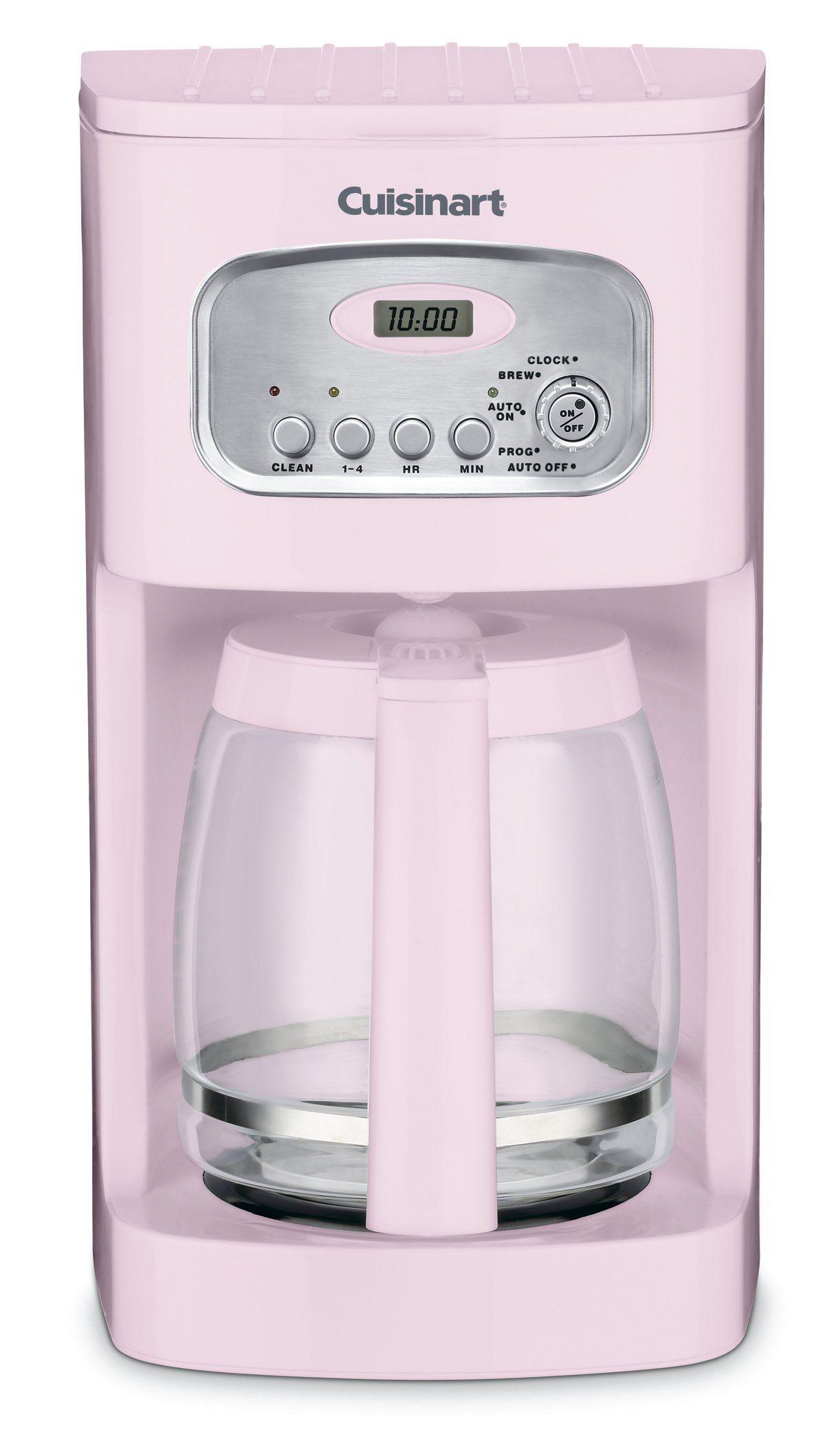 Cuisinart DCC-1100PK 12-Cup Programmable Coffeemaker, Pink ...
