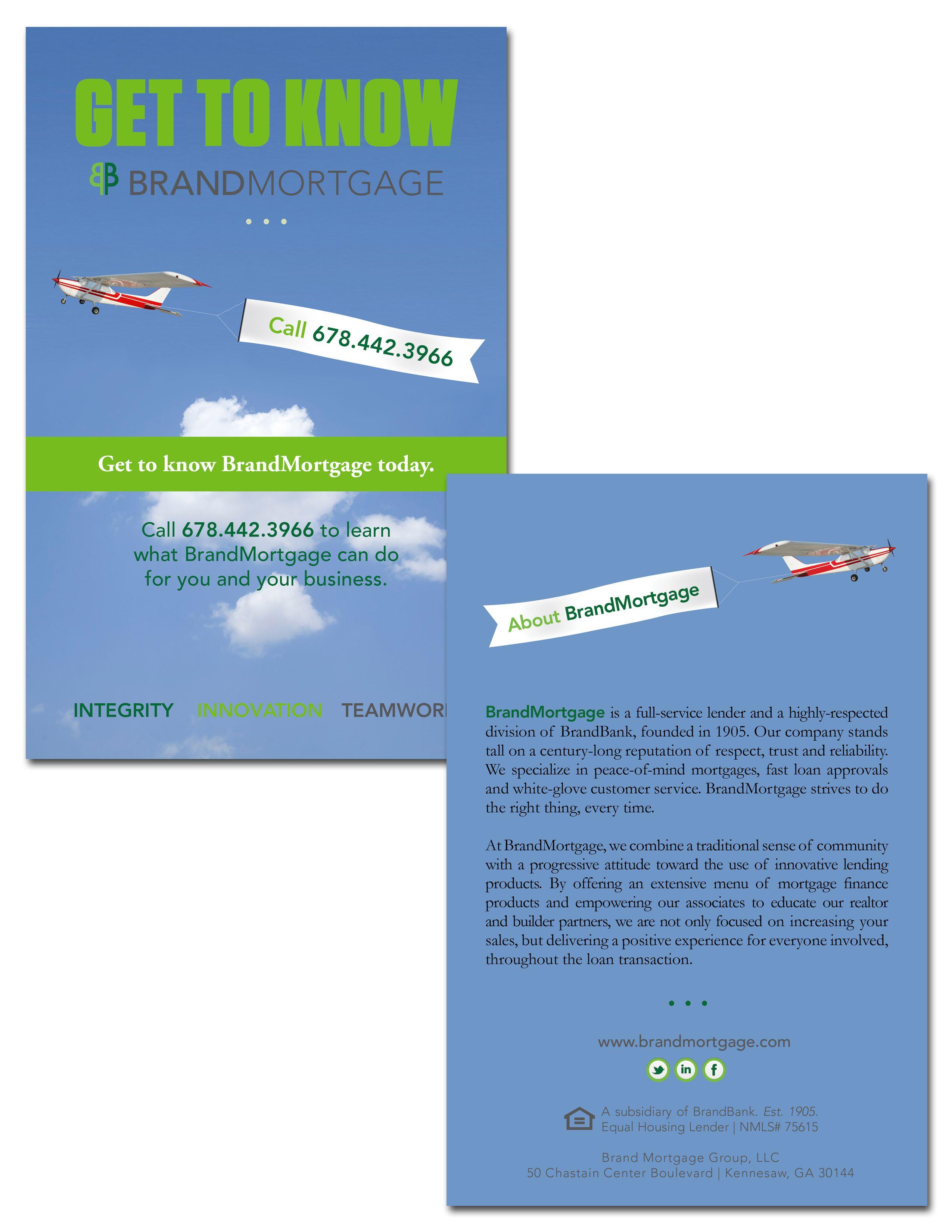 Brandmortgage Drip Campaign Postcard Design Graphic Design
