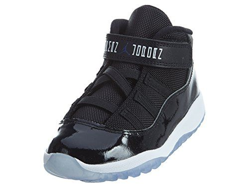 Nike Infant Air Jordan 11 Retro Space Jam 2016 378040 003 Black Concord  White sz 9c US -- You can get additional details at the image link. 1c880784c