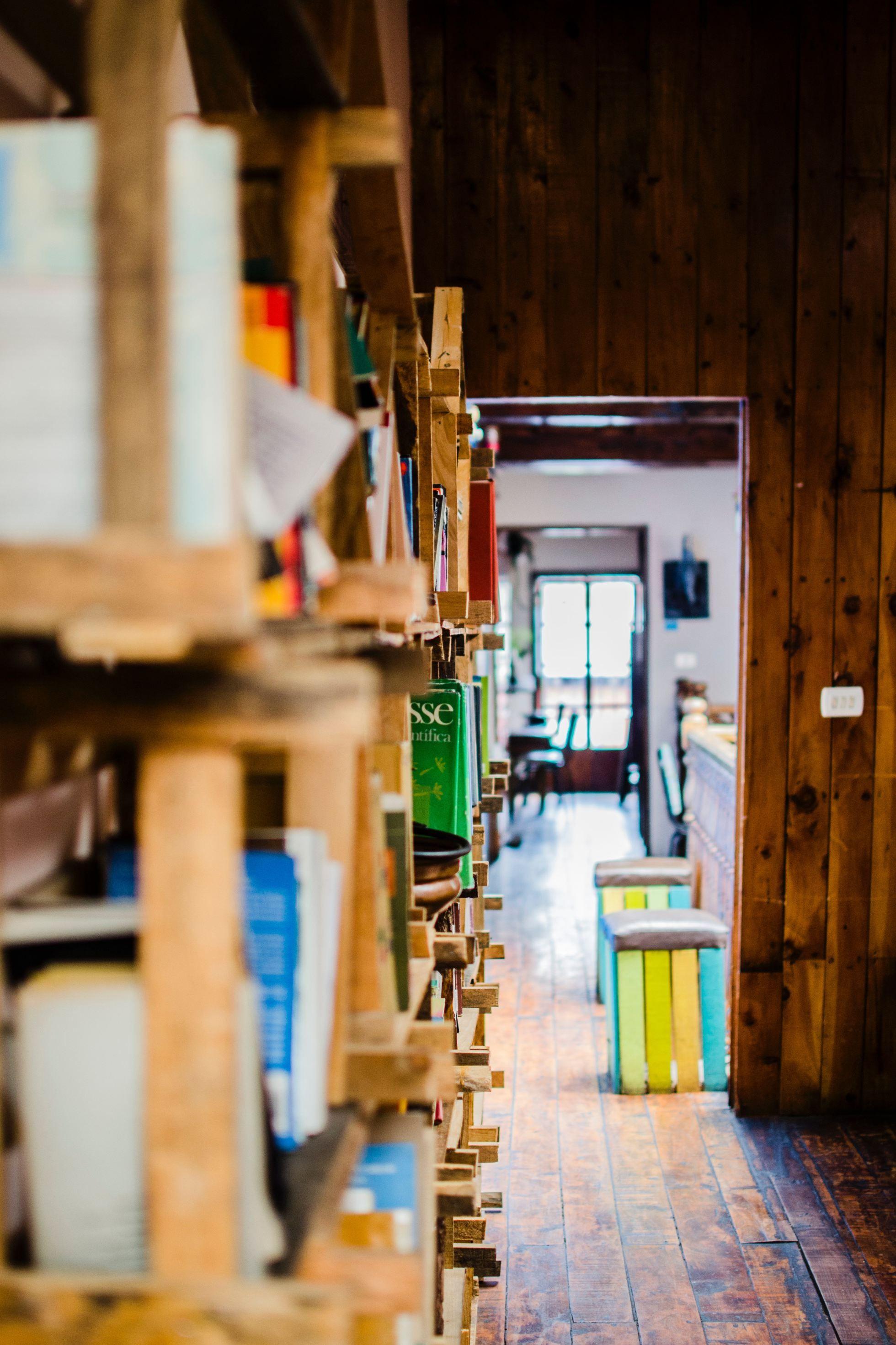 Bookshelf coffee shop opening a coffee shop starting a